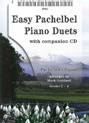Easy To Play Canon In D: Piano Duet