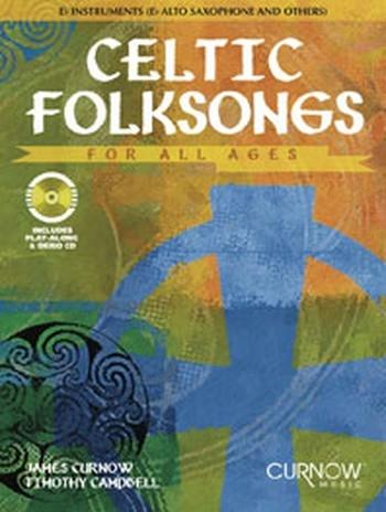 Celtic Folksongs: Alto Sax: Bk& Cd