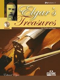 Elgars Treasures: Violin Book & CD (Fentone)