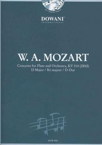 Concerto D Major Flute & Piano Book & CD (Dowani)