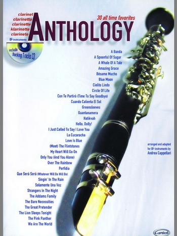 Anthology 30 All Time Favorites: Clarinet: Book & CD