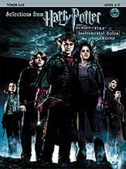 Harry Potter And Goblet Of Fire: Tenor Saxophone: Book & CD