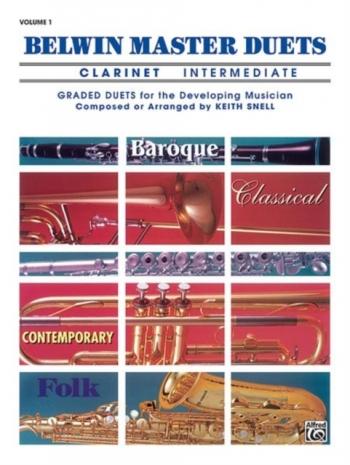 Belwin Master Duets Vol.1 Clarinet Duets Intermediate