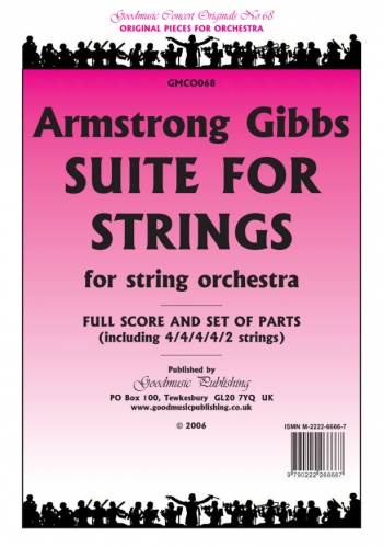 Concert Originals Series: Gibbs: Suite For Strings: String Orchestra: Scandpts