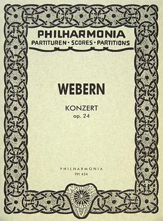 Concerto: Op 24: Miniature Score