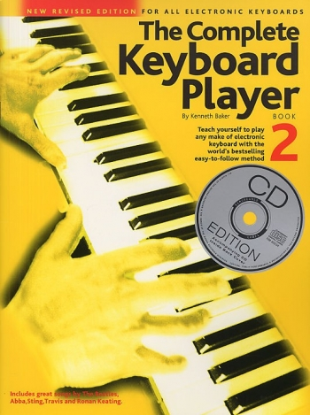 Complete Keyboard Player: Book  2: Revised: Book And Cd