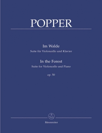 In The Forest: Op 50: Cello  (Barenreiter)