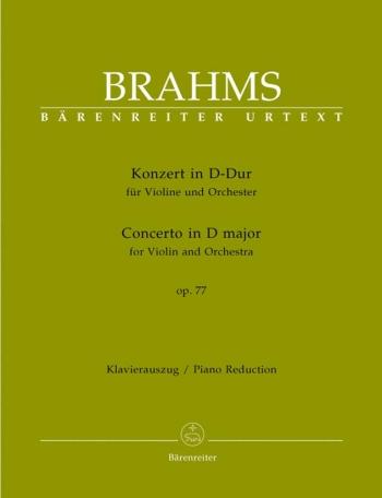 Violin Concerto D Major Op.77: Violin & Piano (Barenreiter)