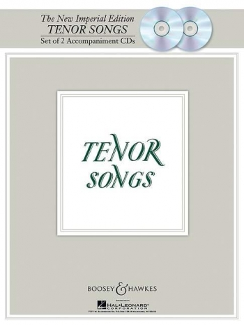 The New Imperial Edition: Tenor Songs: 2 Accomp Cd Set