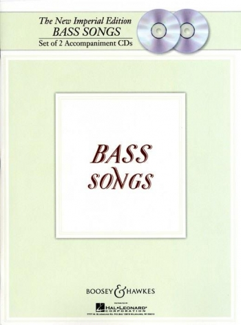 The New Imperial Edition: Bass Songs: 2 Accomp Cd Set