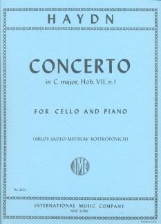 Concerto: C Major: Cello & Piano (International)