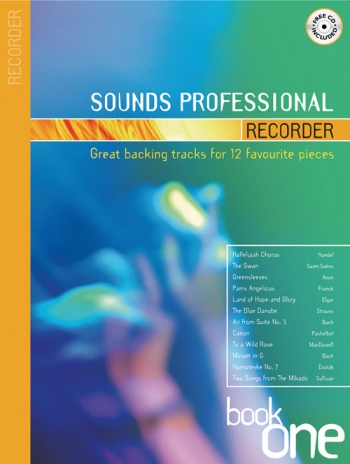 Sounds Professional: Book 1: Recorder: 12 Favourite Songs