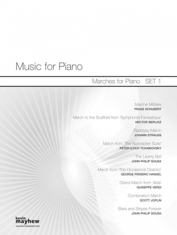 Music For Piano: Marches For Piano : Set 1