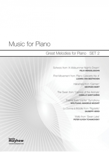 Music For Piano: Great Melodies : Set 2