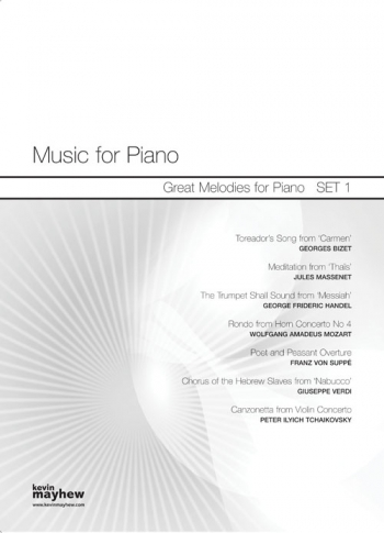 Music For Piano: Great Melodies : Set  1