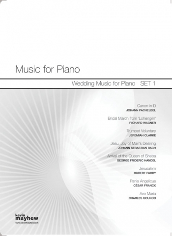 Music For Piano: Wedding Music For Piano : Set  1