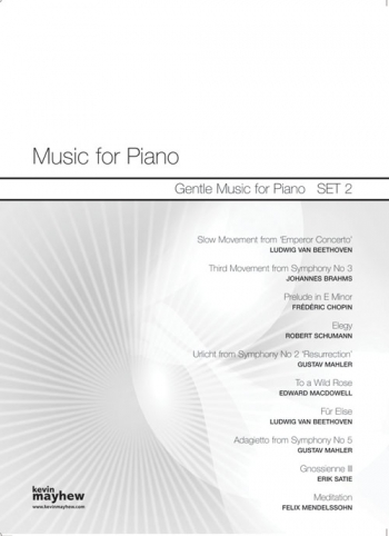 Music For Piano: Gentle Music  For Piano : Set  2