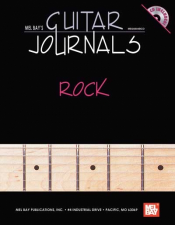 Guitar Journals: Rock : Hardcover
