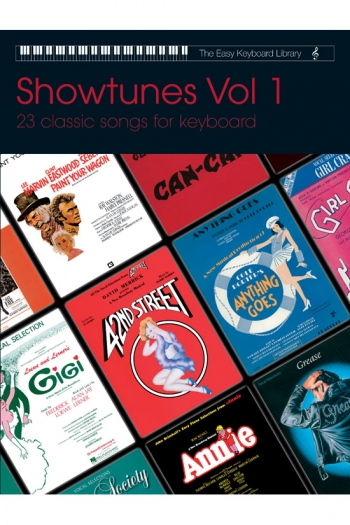 Easy Keyboard Library: Showtunes Vol.1