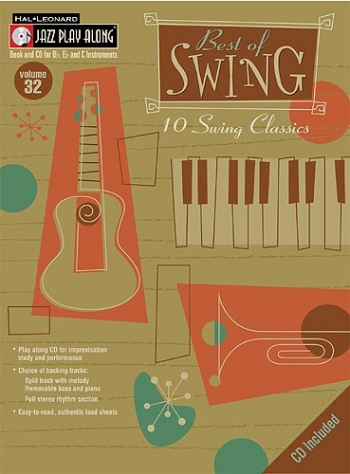 Jazz Play Along Vol.32: Best Of Swing Classics: Bb or Eb or C Instruments: Book & CD