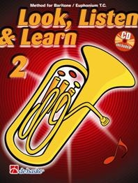 Look Listen & Learn 2 Euphonium Bass Clef: Book & Cd (sparke)