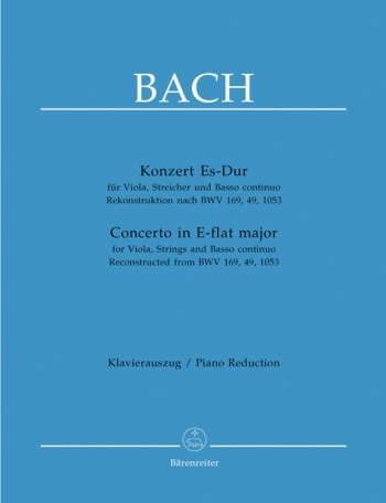 Concerto Eb Major: Viola & Piano (Barenreiter)