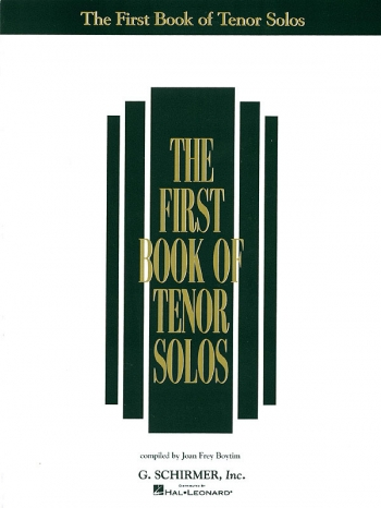First Book Of Tenor Solos Part 1: Voice & Piano