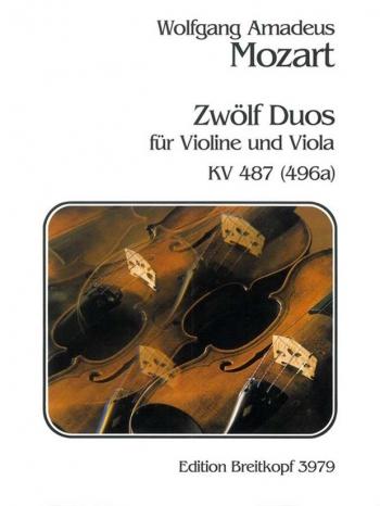 12 Duos Violin & Viola (Breitkopf)