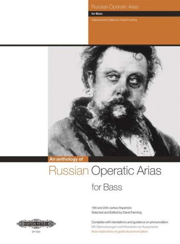 Russian Operatic Arias For Bass 19th And 20th Cent Ury Repertoire