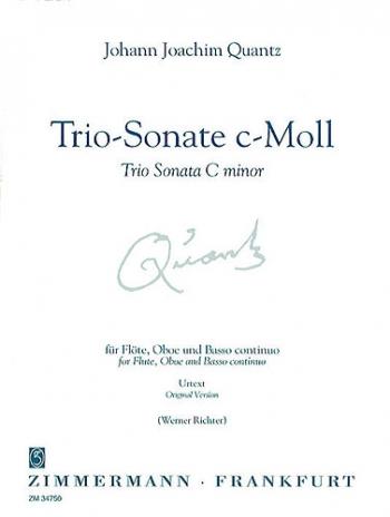 Trio Sonata: Cminor: Flute & Piano (Zimerman)