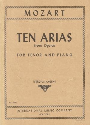 10 Arias: Tenor Voice and Piano (International)