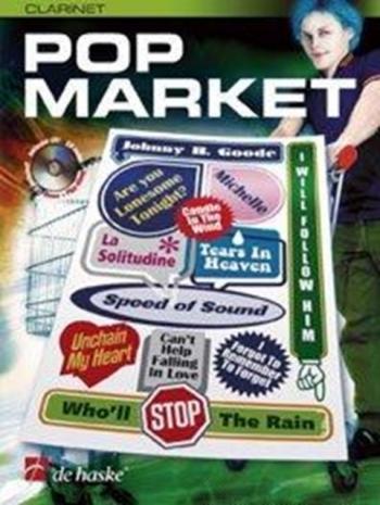 Pop Market: Clarinet: Book & CD