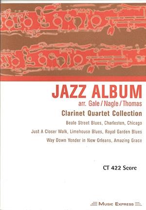 Jazz Album: Clarinet Quartet Collection: Score
