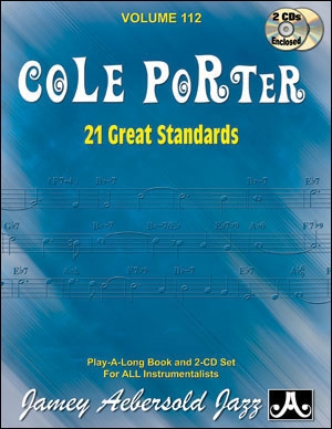 Aebersold Vol.112: Cole Porter: 21 Great Standards: All Instruments: Book & CD
