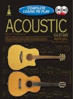 Complete Learn To Play: Acoustic Guitar: Book and CD