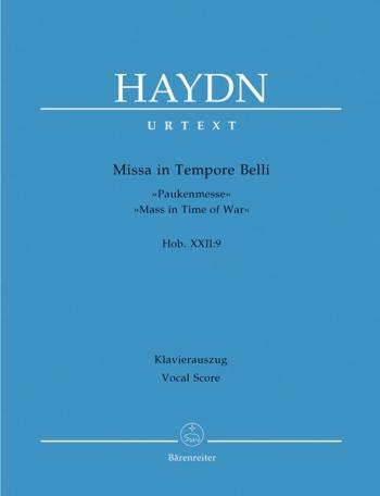 Mass In Time Of War XXII:9: Missa In Tempore Belli: Paukenmesse Vocal Score