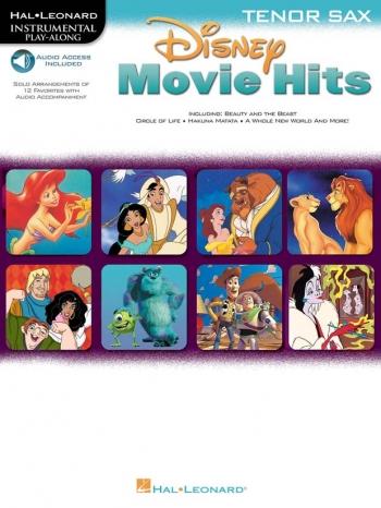 Disney Movie Hits: Tenor Sax: Book & CD