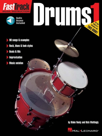 Fast Track Drums Bk & Cd