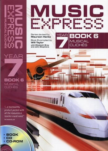 Music Express: Year 7: Book 6: Musical Cliches: Teachers Book & CD (Collins)