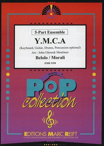 YMCA: 5 Part Ensemble: Keyboard: Guitar: Drums: Percussion