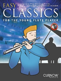 Easy Classics For Flute: Young Player Book & CD