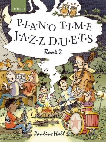 Piano Time Jazz Duets Book 2  (Pauline Hall) (Oxford University Press)