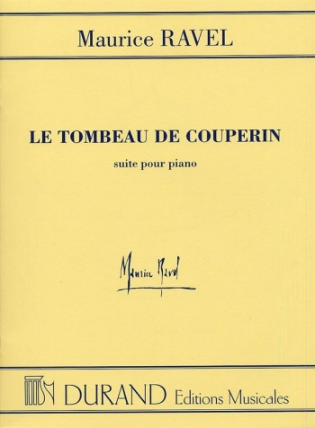 Tombeau De Couperin: Piano (Durand)