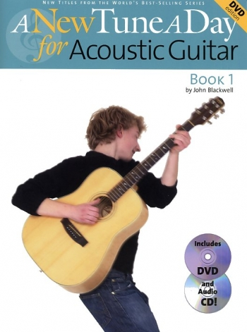 New Tune A Day Acoustic Guitar Book 1: Book & Cd & Dvd