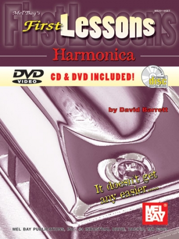 First Lessons Harmonica: Book Cd & Dvd