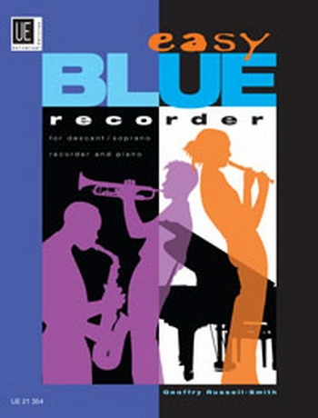 Easy Blue Recorder : Descant Recorder and Piano