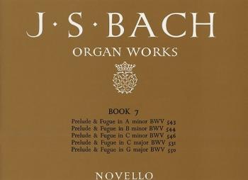 Organ Works Book 7 (Novello)