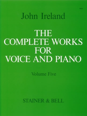 Complete Works For Voice: Vol 5: Medium Voice & Piano