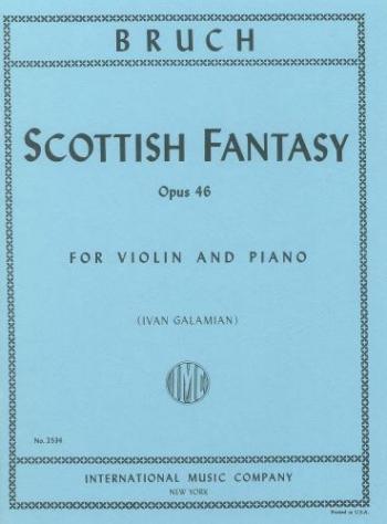 Scottish Fantasy: Op46: Violin and Piano (International)