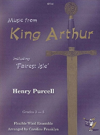 Music From King Arthur: Ensemble: Wind Ensemble: Score and Parts (franklyn)